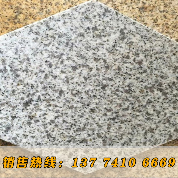 花岗岩白麻定做异形石材